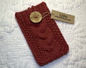 Cell phone case, knitted cell phone case, cell phone cozy