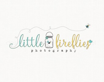 Firefly logo Design Premade Logo Design Graphic Design Photography Logo Photographers Logo Watermark Logo Design Small Business Logo Design