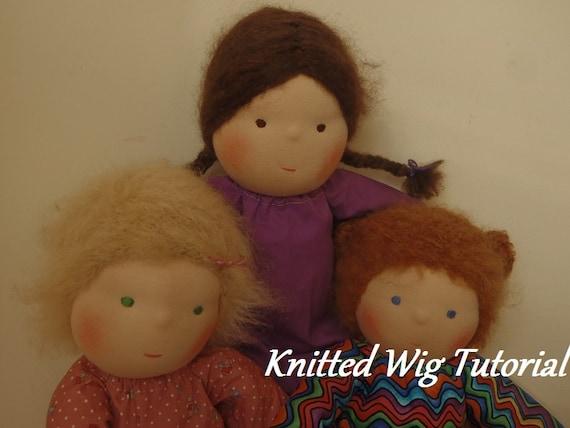 Waldorf Doll Wig 39