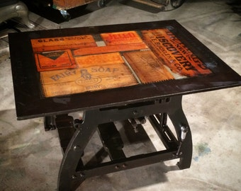 Weights and Measures  One-of-a-Kind Custom Coffee table.