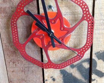 SALE **** Wall Clock - Disk Brake #19  /  50% 0ff