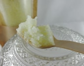 PIRATE HOOKER Sugar Scrub with Spoon, Tropical 6 oz Exfoliating Scrub, Mango Papaya Scented Scrub 6oz, Olive Oil, Sunflower Oil, Avocado Oil