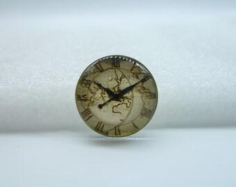 4pcs 20mm Handmade Photo Glass Cabochons  (Clock Watch)  GE1-15