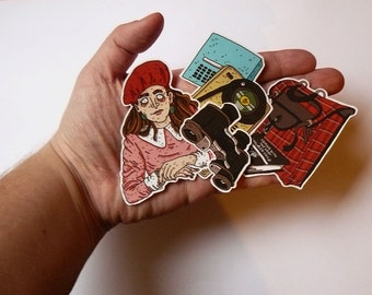 Stickers // Moonrise Kingdom // Wes Anderson // Suzy