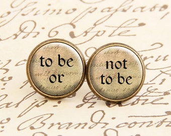 Shakespeare - Stud Earrings