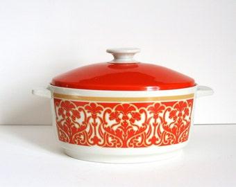 Royal Doulton vintage 1970's Seville Lidded Pot
