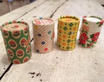 Vintage Italian Match Box - Set of 4