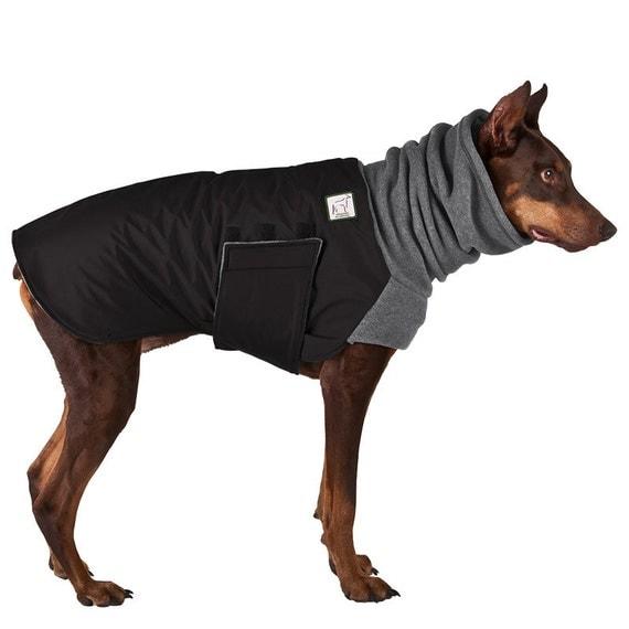 DOBERMAN PINSCHER Winter Dog Coat, Winter Jacket, Waterproof Dog Coat,