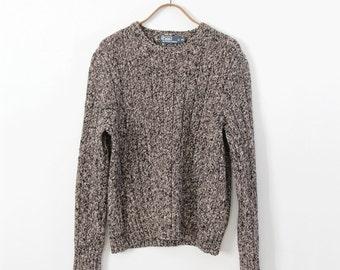 vintage Polo Ralph Lauren cotton sweater, men's large