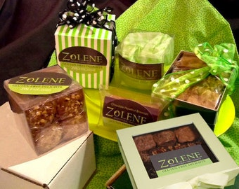 Signature Gluten-Free Brownies & Blondies in Gift Boxes.