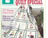 Sunbonnet Sue Quilt 1988 Special Stitch N Sew Quilts Christmas Special patterns Sassy sunbonnets Calendar quilt Wall Hangings Applique