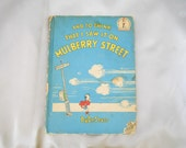 Vintage Dr Seuss - 1937 First Book - First Printing - And to Think I Saw That on Mulberry Street
