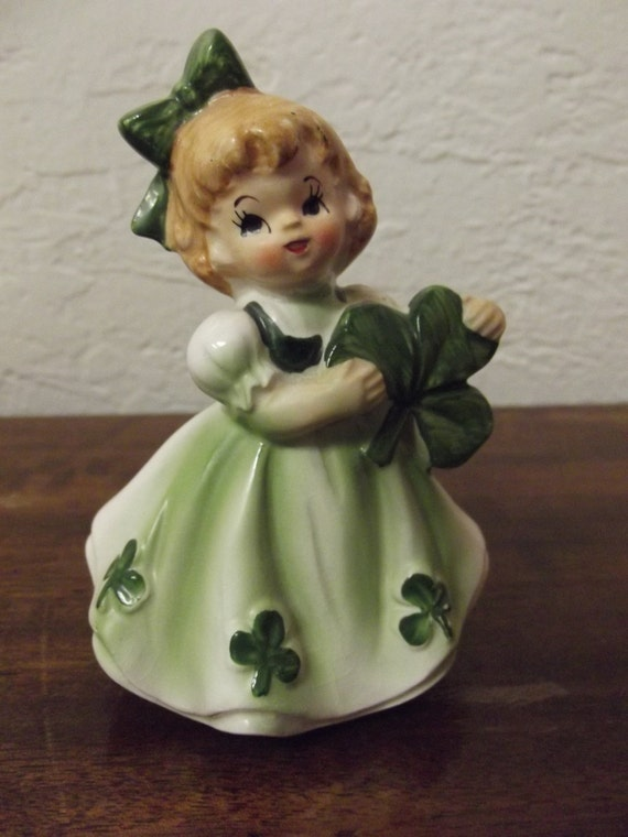 Lefton #403 Irish Girl Figurine