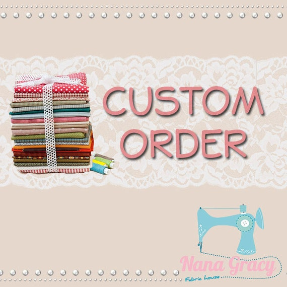 Custom Listing for Candace