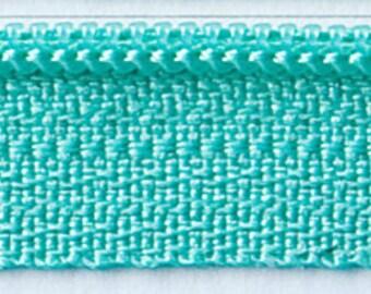 "Zipper 14"" Tahiti Teal ATK 352 Atkinson Design"