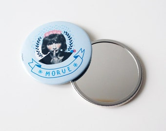 Pocket mirror 7,5 cm / Morue Forever