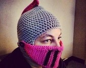 Knight Beanie with movable mouth piece
