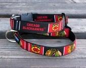 NHL Chicago Blackhawks  Adjustable Dog Collar