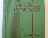 The American Womans Cookbook Circa 1944