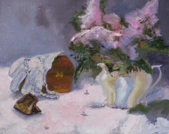 Feminine Treasures - Original Oil Painting