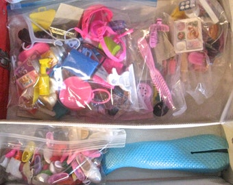 Take 20% Off 1963 Red BARBIE Case PLUS Over 100 SHOES & Accessories See All Images
