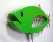 Kingfish in Green