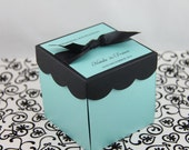 Turquoise & Black Exploding Box Kit ( Set of 40) ASSEMBLY IS REQUIRED.