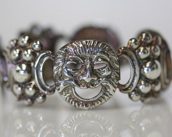 Four Winds Sterling Bracelet Grotesque High End Silver 925