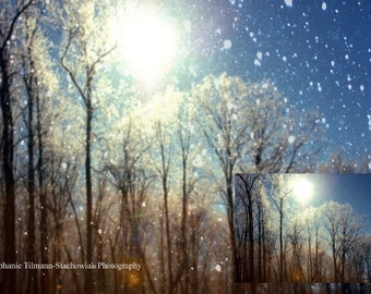Snow Overlay, Textures, Layers, Real Snow Overlay, Instant Download, Winter, Snow