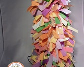 Easter and Spring Grosgrain Pastel Ribbon Tree - Chicks - Glitter Balls