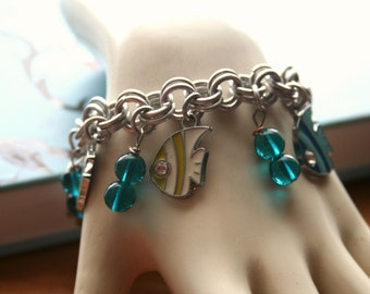 Cute Fish Charm Bracelet