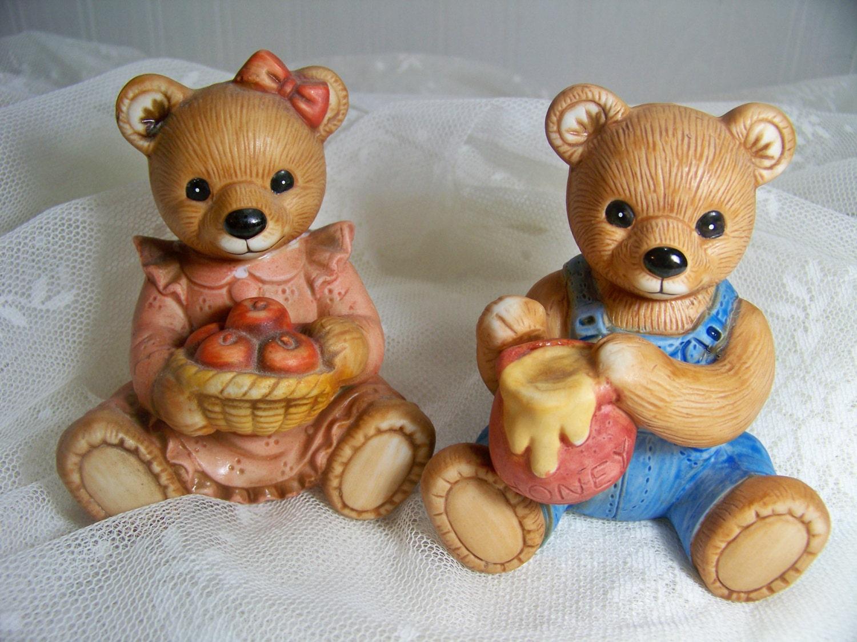 Home Interiors Bears Homco