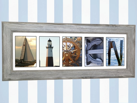 Newborn baby boy personalized baby gifts nautical wall art like this item negle Gallery