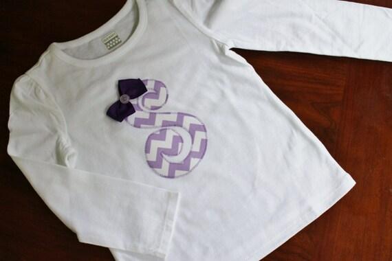 Girls initial shirt