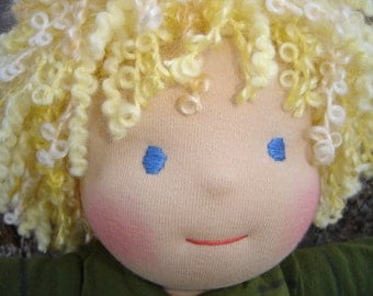Custom Waldorf Doll DEPOSIT, 15 inch doll, made to order October 2016