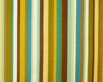 Robert Kaufman Fabric, Another Iota, 7967-172, Cocoa, Stripes