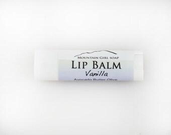 Vanilla Lip Balm - Handmade Vegan