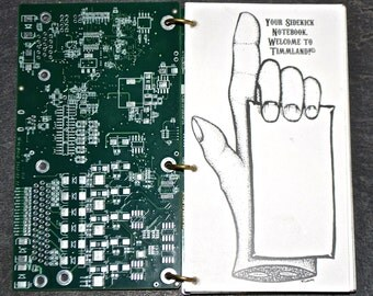 Sidekick Notebook Circuit Board Blank Sketch Book