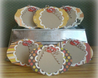 6 Thanksgiving Place Cards