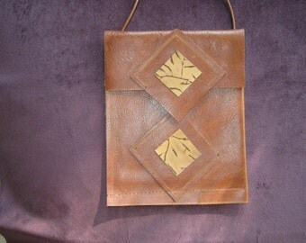 Upcycled Leather Pouch SALE