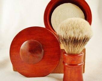 Wet Shaving Badger Brush Matching Set