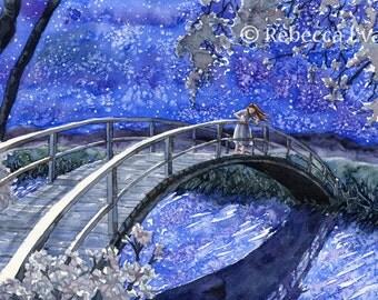 Bridge Over the Stars 13x19