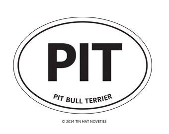 PIT sticker.