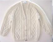 Sophie Special Order - Irish Fisherman Sweater 8-10