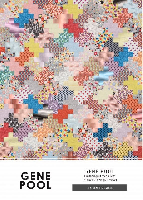 Gene pool quilt pattern by jen kingwell for Thread pool design pattern