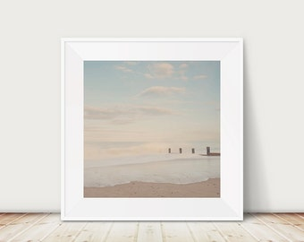 beach photograph ocean photograph coastal print landscape photograph beach print beach decor nautical decor ocean print norfolk print