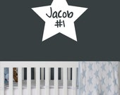 Wall Decal - Kids Personalized Name Decal - Nursery - Monogram Wall Decal - Custom word decals