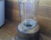 Primitive handmade gumball machine