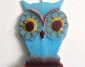 Vintage OWL Candle.  Vintage1970.  Kitsch. Mod, pop, Mid century, Eames Panton era.