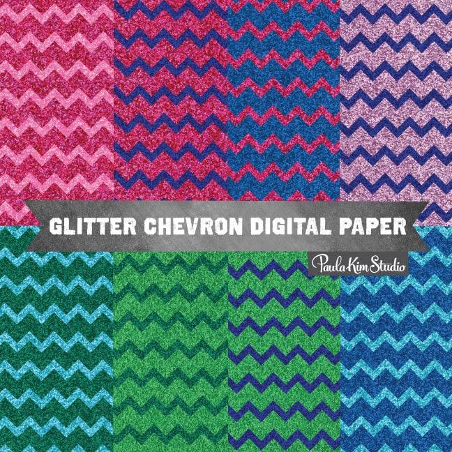 glitter chevron pattern wallpaper - photo #23